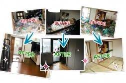 ゴミ屋敷の片付けサービス × アイドルのランディングページを制作
