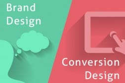コンバージョン獲得のためのデザインとブランディングするためのデザインのバランス