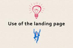 ランディングページとオフィシャルサイトの上手な使い分け