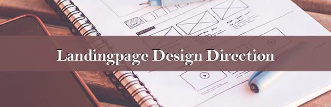 ランディングページのデザインディレクションの5つのポイント メインビジュアル