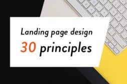 デザイナー必見!ランディングページデザイン品質チェックリスト30