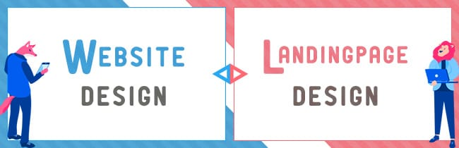 WEBサイトデザインとランディングページデザインの違いを考える